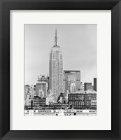 Framed NYC Skyline IV