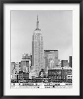 Framed NYC Skyline IV