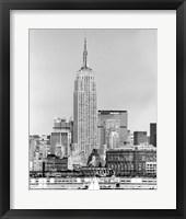 NYC Skyline IV Framed Print