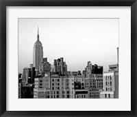 NYC Skyline VI Framed Print