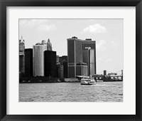 NYC Skyline VII Framed Print