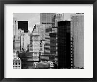 NYC Skyline VIII Framed Print
