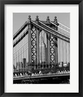 Bridges of NYC I Framed Print