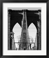 Bridges of NYC II Framed Print