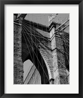 Bridges of NYC III Framed Print
