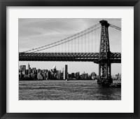 Bridges of NYC IV Framed Print