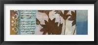 Flower Filigree Panorama II Framed Print