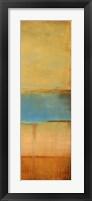 Allure of the Seas II Framed Print