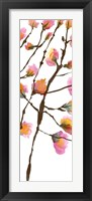 Inky Blossoms II Framed Print