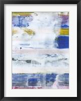 White Wash I Framed Print
