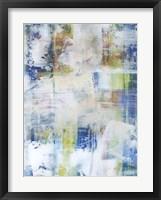 White Wash III Framed Print