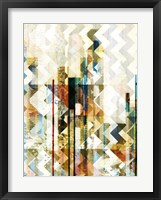 Framed Urban Chevron II