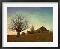 Framed Barn on the Hill