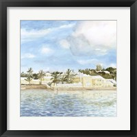 Bermuda Shore II Framed Print