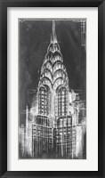 Framed Chrysler Blueprint