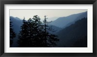 High Country Silhouette I Framed Print