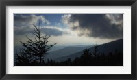 High Country Silhouette II Framed Print
