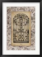 Ivy Gate I Framed Print
