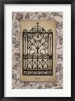 Ivy Gate II Framed Print