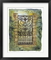 Framed Iron Gate I