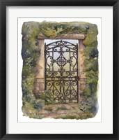 Framed Iron Gate III