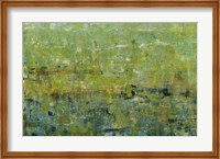 Framed Opulent Field I