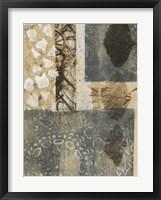 Ginkgo Fossil II Framed Print