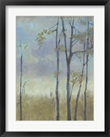 Tree-Lined Wheat Grass I Framed Print