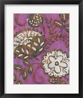 Radiant Ornament I Framed Print