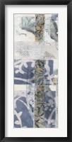 Chambray & Lace I Framed Print
