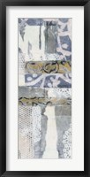 Chambray & Lace II Framed Print
