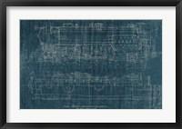 Framed Train Blueprint I