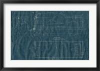 Framed Train Blueprint III