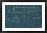Framed Train Blueprint IV