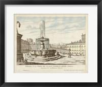 Framed Fountains of Rome V