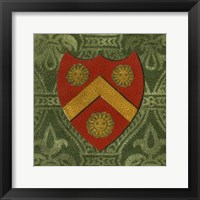 Framed Noble Crest V