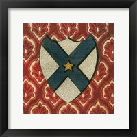 Framed Noble Crest VII
