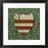 Framed Noble Crest VIII