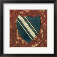 Framed Noble Crest IX