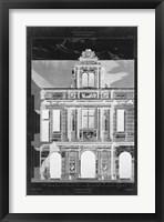 Framed Graphic Facade I
