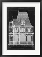 Graphic Facade II Framed Print