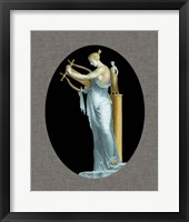 Grecian Beauty I Framed Print