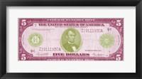 Framed Modern Currency II