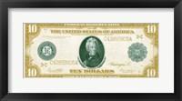 Framed Modern Currency III