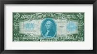 Framed Modern Currency V