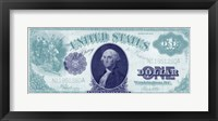 Framed Modern Currency VI
