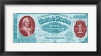Framed Modern Currency VII
