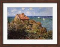 Framed Fisherman's Cottage