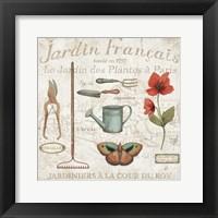 Royal Garden III Framed Print