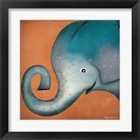 Framed Elephant WOW